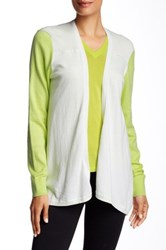 Ted Baker Lyndzie Colorblock Cardi White