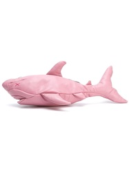 Christopher Raeburn Leather Fish Clutch Pink And Purple