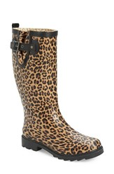 Chooka Women's 'Lavish Leopard' Rain Boot