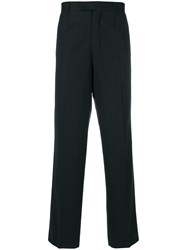 Dolce And Gabbana Vintage Wide Leg Trousers Black