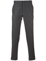 Incotex Slim Fit Trousers Brown