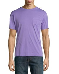 Ralph Lauren Pima Cotton Pocket T Shirt Lavender Purple