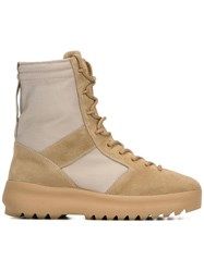 Yeezy Season 3 Military Boots Nude Neutrals