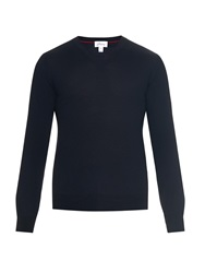 Brioni Wool Silk And Cashmere Blend Sweater