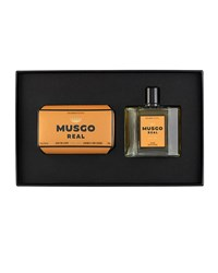 Musgo Real Gift Set Soap On A Rope And Cologne Orange Amber
