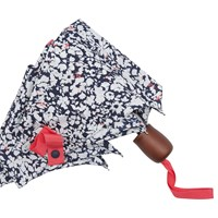 Joules Ditsy Print Umbrella Navy White
