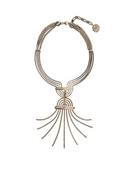 Lanvin Elvira Necklace Yellow Gold