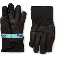 Arc'teryx Anertia Gore Tex Full Grain Leather Gloves Black