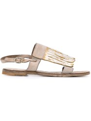 Officine Creative 'Serifos' Sandals Grey