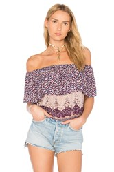 Nightcap Topanga Top Purple