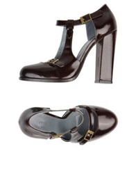 Malo Pumps Dark Brown
