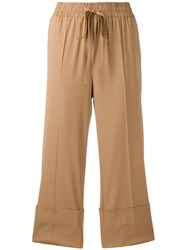 Red Valentino Straight Leg Cropped Trousers 60