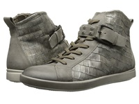 Ecco Aimee High Top Sneaker Moon Rock Moon Rock Women's Lace Up Casual Shoes Taupe