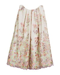 Helena Embroidered Sweet Pea Lace Dress Multi