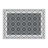 Hibernica Small Ceramic Tiles Vinyl Placemat Grey