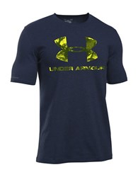 Under Armour Ua Sportstyle Takeover Graphic Front T Shirt Midnight