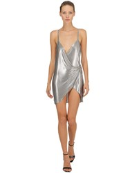 Fannie Schiavoni Stainless Steel Mesh Dress Silver