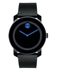 Movado 42Mm Bold Two Hand Watch Gray