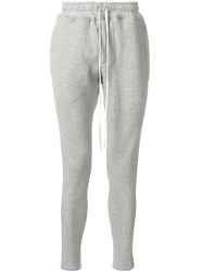Represent Slim Fit Track Trousers Grey