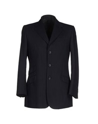 Dandg Suits And Jackets Blazers Men Dark Blue