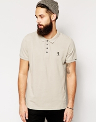 Religion Basic Polo Grey