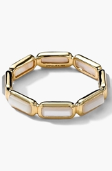 Ippolita 'Rock Candy Gelato' 18K Gold Band Ring Yellow Gold Mother Of Pearl