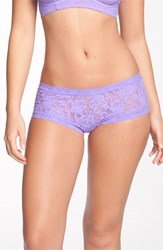 Women's Hanky Panky 'Signature Lace' Boyshorts Electric Orchid