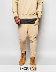 Underated Skinny Joggers Beige
