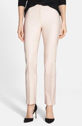 Nic Zoe Women's The Perfect Ankle Pants Pink Pearl
