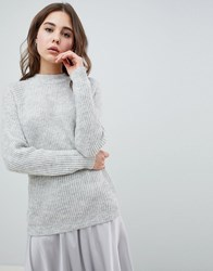 Minimum Round Neck Jumper Grey