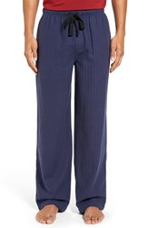 Nordstrom Men's Big And Tall Men's Shop Flannel Lounge Pants Navy