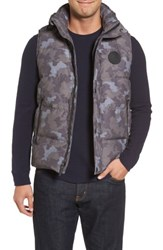 Uggr Men's Ugg Water Resistant Down Vest Camo