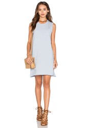 Atm Anthony Thomas Melillo Pocket Tank Dress Baby Blue