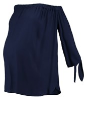 Isabella Oliver Caiti Blouse Darkest Navy Dark Blue