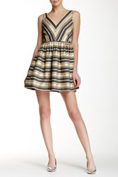 J.Crew Factory Candy Fit And Flare Dress Multi