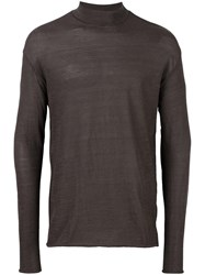 Kolor Crew Neck Jumper Brown