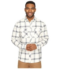 Rip Curl Marin Long Sleeve Flannel Khaki Men's Long Sleeve Button Up