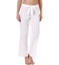 Bodas Cotton Pyjama Trousers White