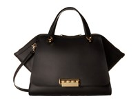 Zac Posen Eartha Iconic Jumbo Double Handle Black