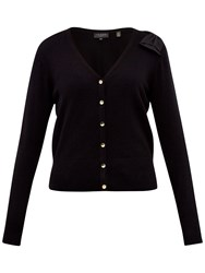 Ted Baker Bevie Bow Shoulder Cardigan Black