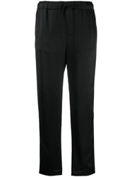 Semicouture Cropped Trousers Black