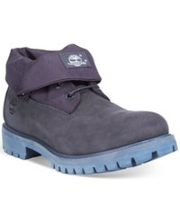 Timberland Men's Roll Top Boots Men's Shoes Navy
