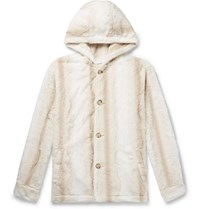 Noon Goons Faux Fur Hooded Jacket Neutral