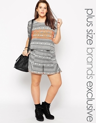 Alice And You Aztec Print Shorts Multi