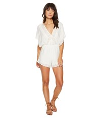 Amuse Society Anderson Romper Casa Blanca Women's Jumpsuit And Rompers One Piece White