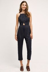 Anthropologie Naeve Jumpsuit Navy
