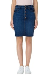 J Brand Women's Roleen Cutoff Denim Skirt