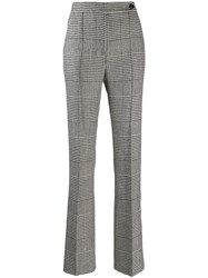 Ermanno Scervino Houndstooth Check Trousers Black