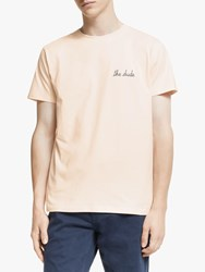 Maison Labiche The Dude T Shirt Soft Pink
