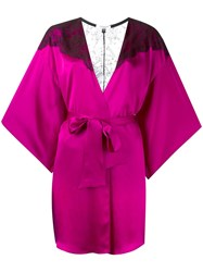 Gilda And Pearl 'Illusion' Robe Pink Purple
